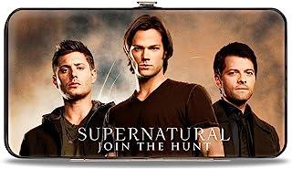 Buckle-Down 女式铰链钱包 - Supernatural, Supernatural, 均码