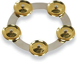 Latin Percussion 15.24 cm Tambo-Ring - 不锈钢带黄铜叮当