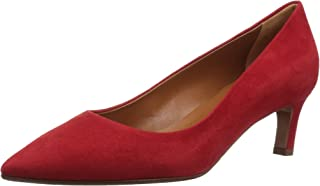 Aquatalia 女士 Marianna 麂皮高跟鞋,