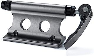 EMVANV 自行车块叉架,铝合金自行车车架快速释放叉安装卡车床自行车行李架,适用于卡车/拖车/自行车