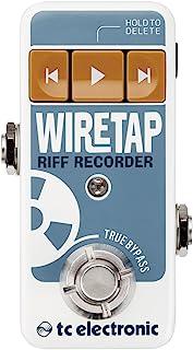 TC 电子 WireTap Riff 录像机效果踏板,WIRETAP RIFF RECORDER