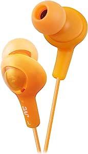 JVC HAFX5D Gumy Plus Inner Ear Headphones (Orange)