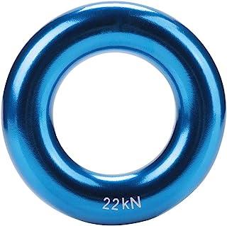 MAGT 攀岩环,圆形铝合金攀岩环耐用Rappel Ring 多色圆形攀岩环完美张力铝合金 O 形环,用于攀岩