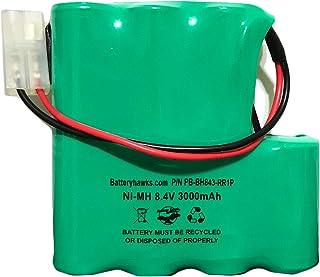 MEGATECH PBA007-C PBA007 泳池减震器 MAX CS-PBS007VX 8.4v 3000mAh 镍氢电池组替换 7C2219MF 10142A007 3937