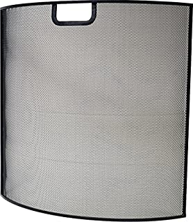 Ivyline IFS60 60 厘米铁质防火屏幕 - 黑色
