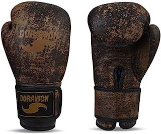 Dorawon 复古拳击手套皮革比赛中性成人
