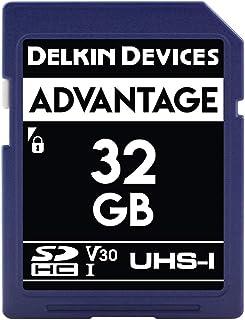 Delkin Devices 32GB Advantage SDHC UHS-I (U3/V30) 存储卡