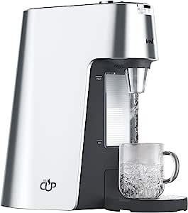 Breville 铂富 HotCup出水量可选高度可调热饮水机,2.0升,银色