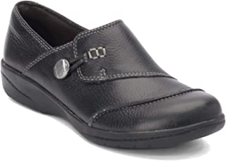 Clarks 女式 Cheyn Misha 平底乐福鞋