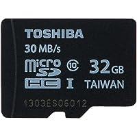 TOSHIBA 东芝 32G TF(microSDHC)存储卡(Class10) 黑色【全新40MB/s,新老批次随机发…