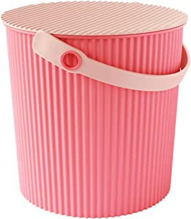八幡化成 带盖水桶 way-be Fraichair Bucket(水壶椅篮) L 10L 粉色 L 4966511230625