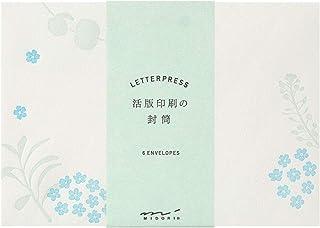 Designphil Midori 信封 活版 散格花纹 20560006