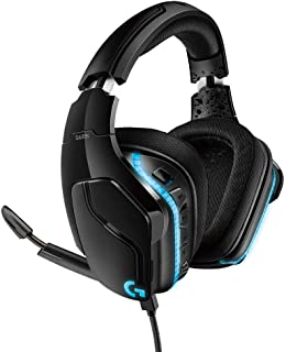 Logicool 罗技 G 游戏头戴式耳机 G633s 黑色 Dolby 7.1ch 降噪 附带麦克风 电脑 PS4 Switch LIGHTSYNC RGB 3.5 毫米 usb