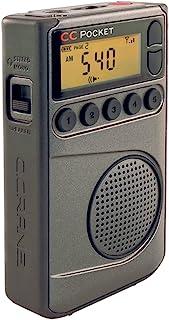 C. Crane CC 口袋 AM FM 和 NOAA 气象收音机,带时钟和*定时器