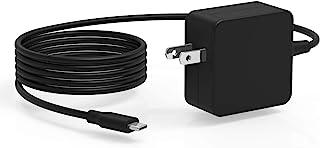 UL 认证 7.5 英尺 45 瓦(瓦特)USB C AC 充电器适用于三星 Galaxy Tab S7 S7+ Plus SM-T970/T978/T870/T878 Type C 平板电脑电源适配器线