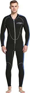 Cressi 男士 Lido Man Monopiece 2 毫米一体式潜水服优质氯丁橡胶高弹力