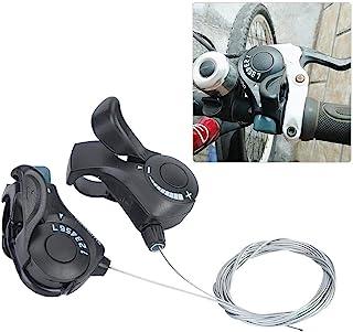 自行车移位杆 - 一对户外山地自行车 TX-30 拇指齿轮移位器 3X7 速变速杆和套装