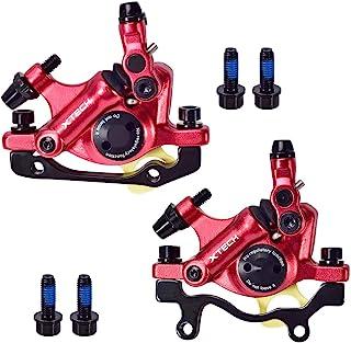 USDREAM Zoom HB-100 山地自行车线拉动液压盘制动器套装油压盘制动器工具卡钳前/后