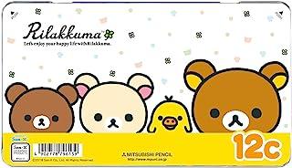 三菱铅笔 彩色铅笔 轻松熊 880 12色套装