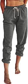 ROSKIKI 女式夏季抽绳松紧腰休闲纯色舒适沙滩短裤带口袋
