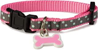 Arquivet 8435117802629 狗项链 反光粉色 1.9 x 35/50 厘米