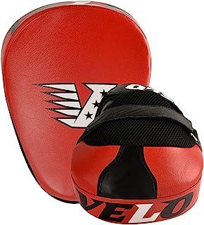 VELO 皮质聚焦垫拳击弯曲钩拳击手套垫拳击泰拳手套训练红色