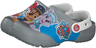 Crocs 儿童 Paw Patrol 洞鞋 | 儿童一脚蹬水鞋,适合幼儿、男孩、女孩