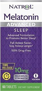 Natrol Advanced Sleep优质褪黑素片,10毫克,60片