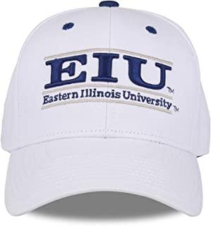 东伊利诺伊州黑豹成人游戏吧可调节帽子 - 白色,