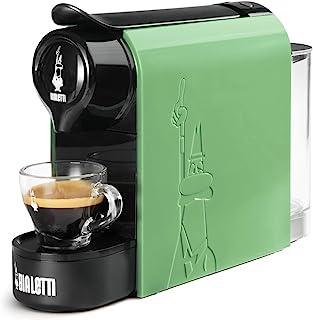 Bialetti Gioia,铝制胶囊咖啡机,Bialetti la Caffèd'Italia,超紧凑,薄荷绿