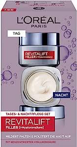 L'Oréal Paris 巴黎欧莱雅 复颜导入系列(Revitalift Filler) [HA] 日夜面霜套装