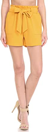 Leggings Depot 女式高腰办公休闲裤和短裤 - 休闲时尚
