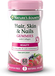 Nature's Bounty Hair, Skin and Nails Gummies 60