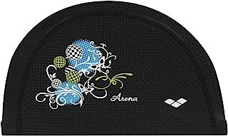 arena 阿瑞娜 两用硅胶帽 游泳用 黑色 均码 FAR-1905