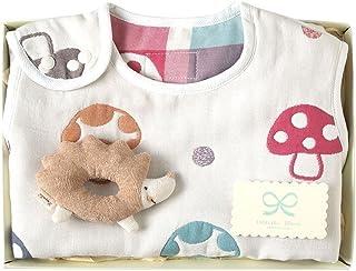 Hoppetta champignon 6层纱布睡袋+摇铃 剪刀 礼盒套装 18111047