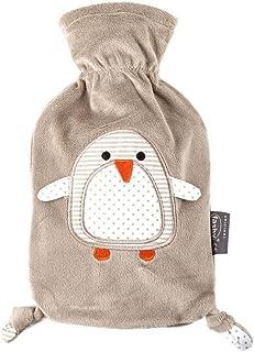 """Fashy """"Pia"""" 35720.4 暖水瓶/儿童暖水袋 企鹅款 热塑暖水瓶 带软和的毛绒套 由 *聚酯制成 结实耐用 0.8 升容量"""