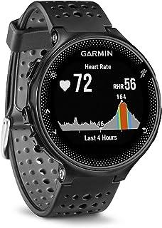 佳明(GARMIN) Forerunner235户外运动智能手表 跑步骑行心率GPS彩色显示屏 黑灰色