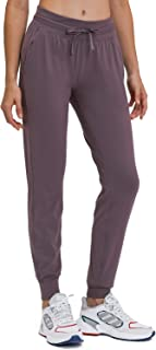 Ukaste 女式弹力锻炼慢跑裤 - 旅行休闲跑步锥形运动裤