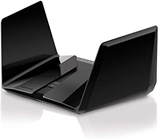 NETGEAR Nighthawk夜鹰AX12 12流三频Wi-Fi 6路由器(RAX200)-AX11000无线速度(高达10.8 Gbps)| 覆盖大房间| 4个1G和1个2.5G以太网端口| 2个3.0 USB