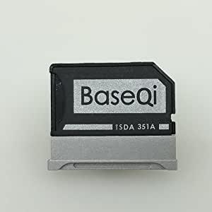 "BASEQI 铝质 MicroSD 适配器,适用于 Microsoft Surface Book & Surface Book 2iSDA350ASV Surface Book 2 15"" (model-351A)"