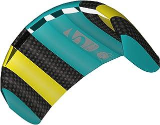 HQ 风筝 Symphony Beach III 1.3 特技风筝 51 英寸双线运动风筝,颜色:彩虹 - 活跃户外乐趣 适合 8 岁及以上儿童 Aqua 水*