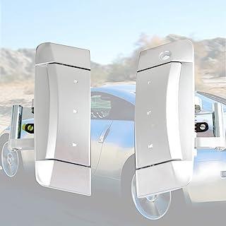 门外把手 - 兼容 2003-2009 日产 350Z - 门把手驾驶员和乘客侧 - 替换 80607-CD41E 80607-CD401 80607-CD40A 白色 RZ188