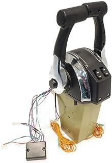 ROP Shop 遥控器 45000 双发动机控制台安装适用于 Mercury 883711A02 舷外板
