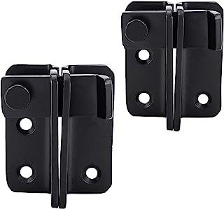 滑动门锁,2 件不锈钢双*翻盖门闩锁门锁锁,适用于谷仓门、窗户、车库栅栏