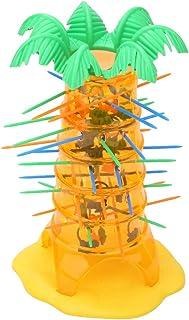 TOPINCN 落下的猴子游戏猴子平衡计数玩具猴子平衡游戏不要让猴子倒下伟大的礼物给孩子圣诞节生日