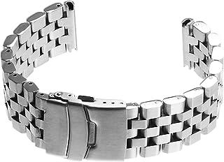 StrapsCo 不锈钢*工程 II 手表手链表带 - 选择颜色 - 20 毫米 22 毫米 24 毫米