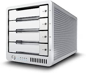 CalDigit T4 4.096TB Thunderbolt 2 专业 RAID 0、1、5、JBOD 外部固态硬盘