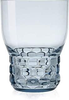 Kartell Jellies 家庭盘子 桌面 玻璃杯 碗和玻璃瓶 塑料 浅蓝色 8.5 × 11 厘米 4 件