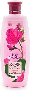 Biofresh 保加利亚玫瑰护发素,玫瑰水,适用于枯竭和经过处理的*,330 毫升,BF-RB-Cond330-1x