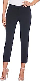 Rafaella 女士小号轻质缎斜纹布及踝裤